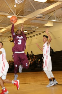 Mumford sophomore guard Brandon Green leads the Mustang youth movement.